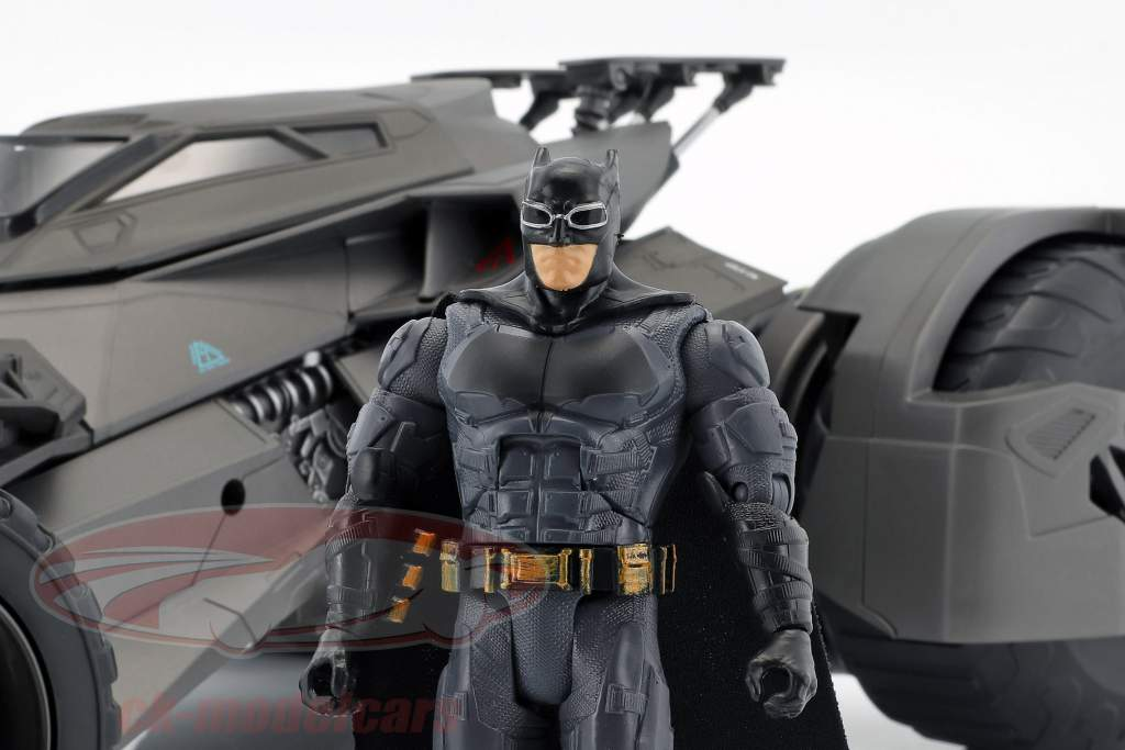 Batmobile RC-Car from the movie Justice League 2017 with Batman figure 1:10 Mattel