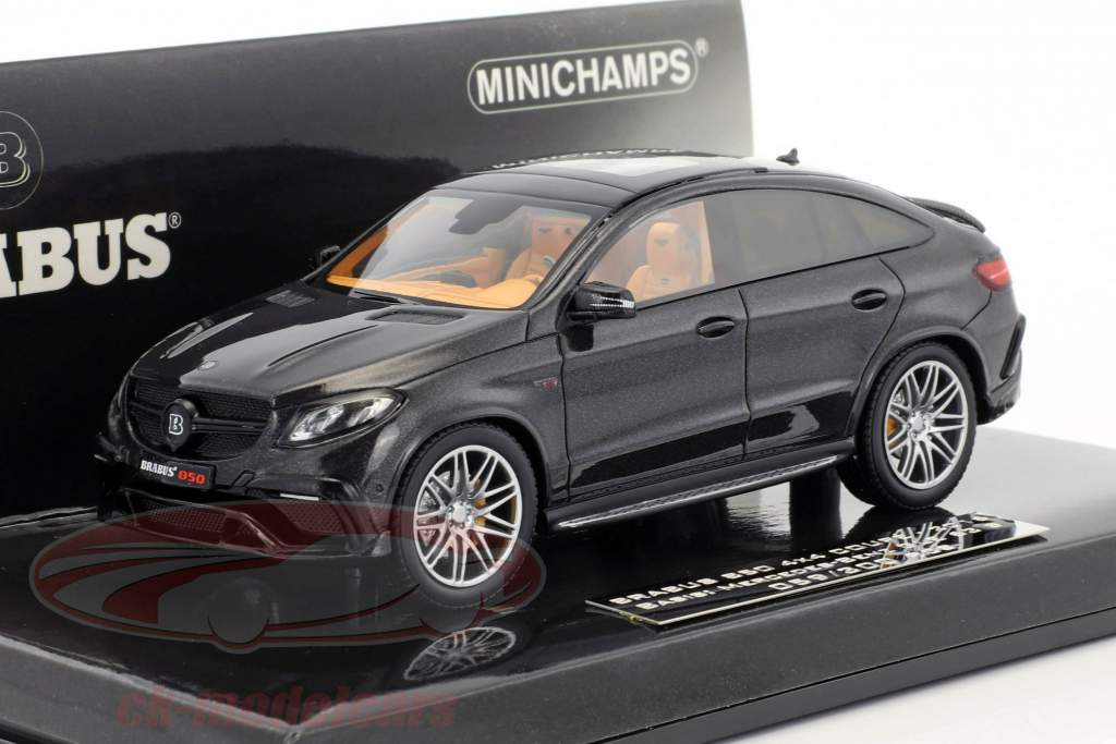 Brabus 850 4x4 Coupe anno di costruzione 2016 nero metallico 1:43 Minichamps