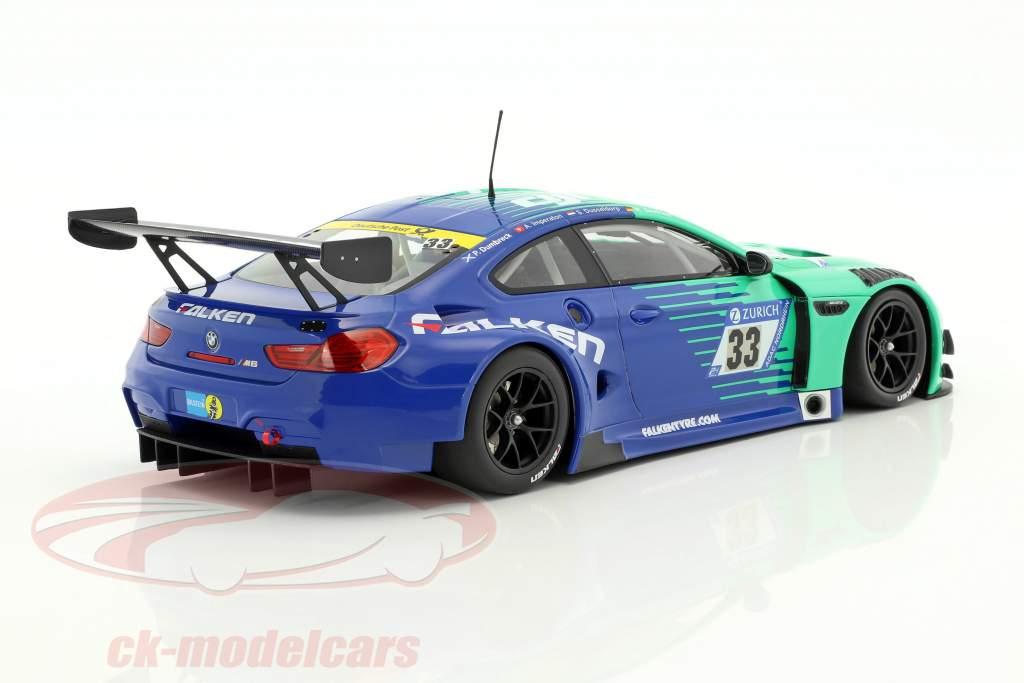 2-Car Set BMW M6 GT3 #33 & Porsche 911 GT3R #44 Nürburgring 2017 1:18 Minichamps