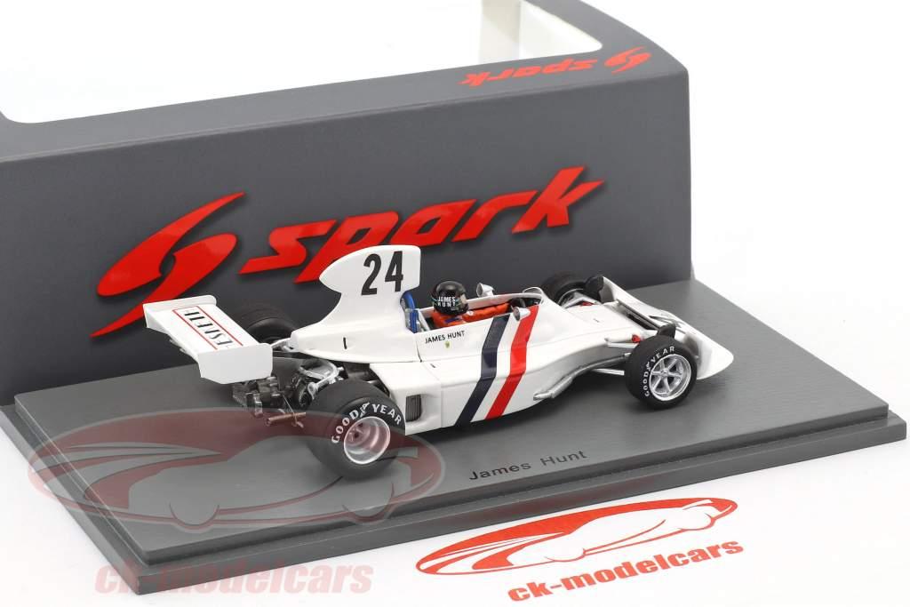 James Hunt Hesketh 308 #24 3rd Schweden GP Formel 1 1974 1:43 Spark