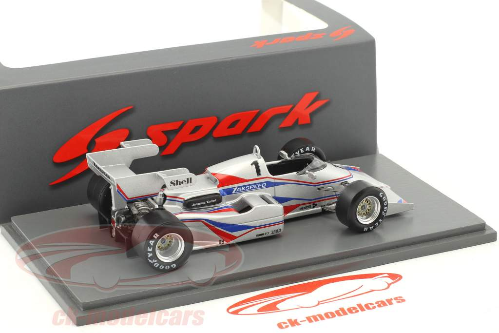 Zakspeed 841 #1 Presentation Car formula 1 1984 1:43 Spark