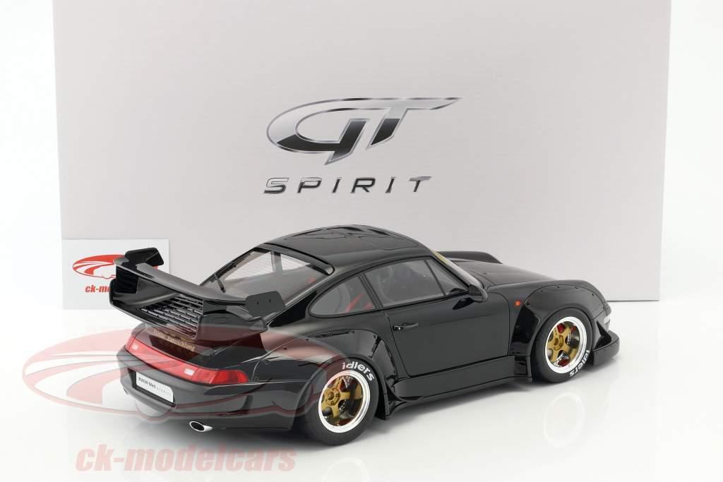 Porsche 911 (993) RWB black 1:12 GT-SPIRIT
