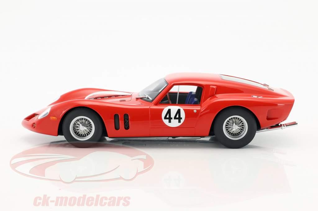 Ferrari 250 GT Drogo #44 cuarto 500km Spa 1963 Langlois van Ophem, Bianchi 1:18 CMR