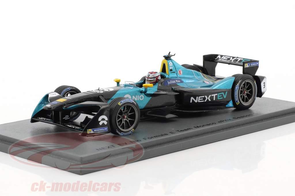 Nelson Piquet jr. NextEV 700R #3 monaco ePrix formula E 2016/2017 1:43 Spark