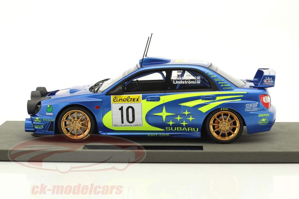 Subaru Impreza S7 Night Vers. #10 gagnant Rallye Monte Carlo 2002 Mäkinen, Lindström 1:18 TopMarques