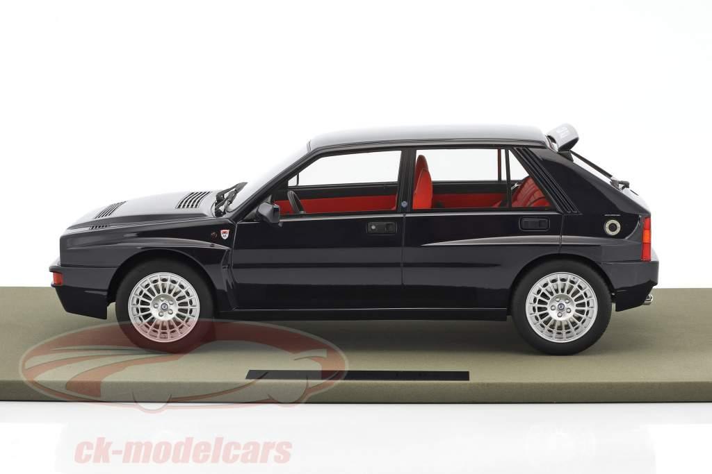 Lancia Delta Integrale Evolution Club Italia year 1992 dark blue 1:12 TopMarques