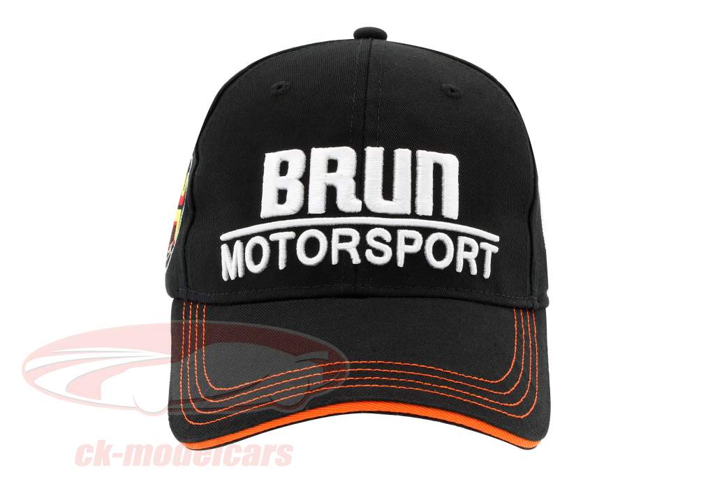 Stefan Bellof Cap Brun Motorsport #1 Norisring 1984 black / white / orange