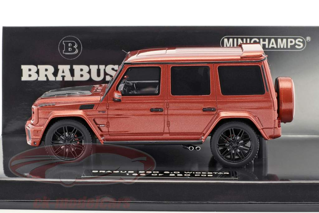 Brabus 850 6.0 Biturbo Widestar Baujahr 2016 kupfer metallic 1:43 Minichamps