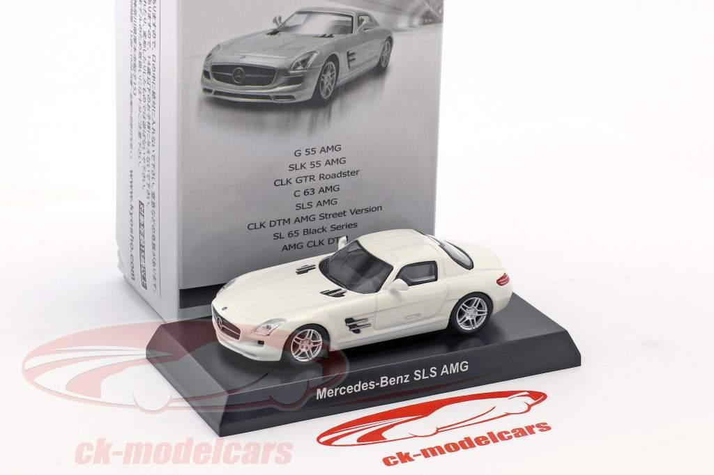 Mercedes-Benz SLS AMG White 1:64 Kyosho