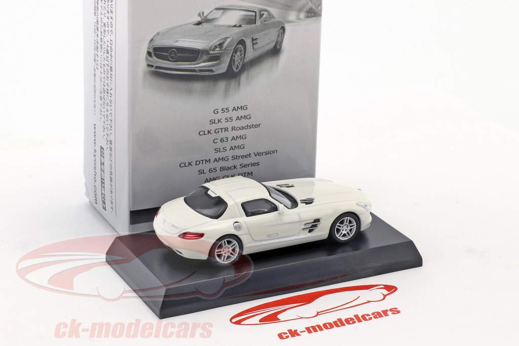 Mercedes-Benz SLS AMG bianco 1:64 Kyosho