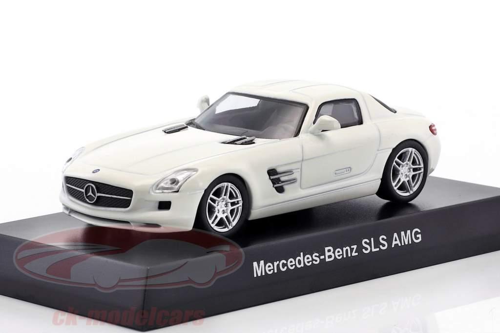 Mercedes-Benz SLS AMG weiß 1:64 Kyosho