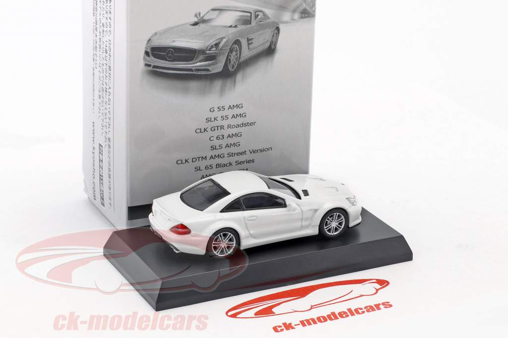 Mercedes-Benz SL 65 Black Series weiß 1:64 Kyosho