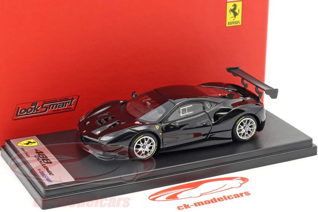 Ferrari 488 Challenge Baujahr 2017 schwarz 1:43 LookSmart