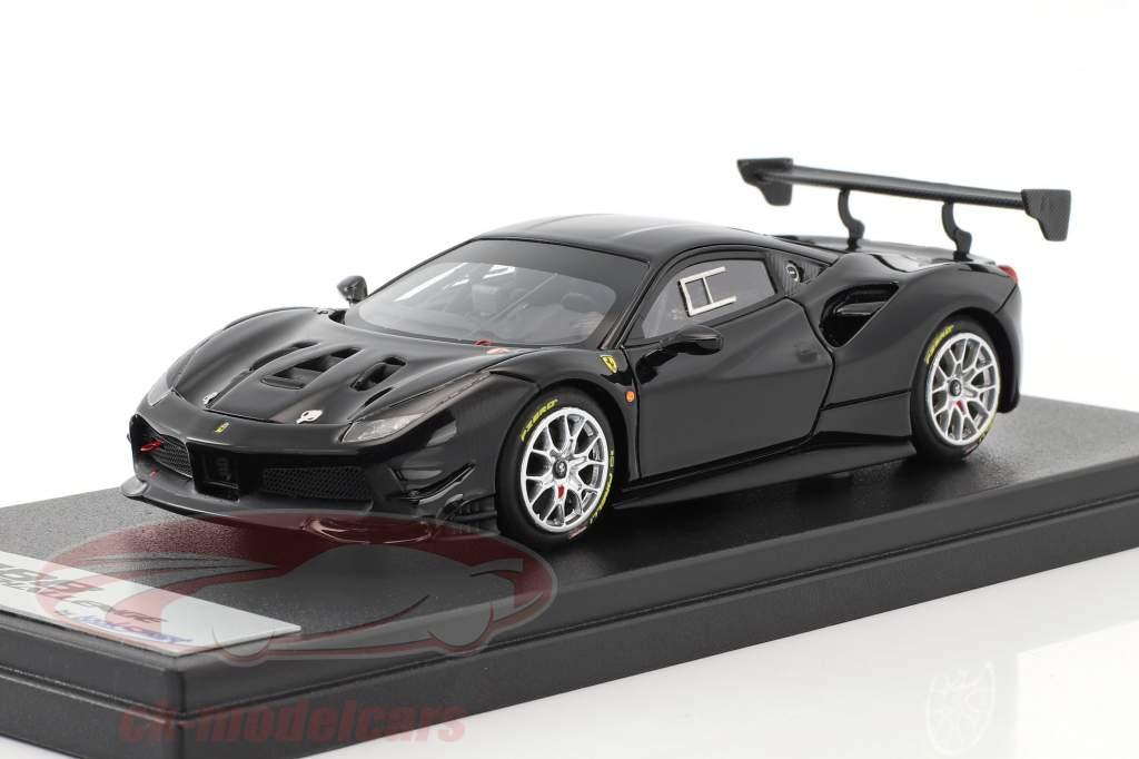 Ferrari 488 Challenge year 2017 black 1:43 LookSmart