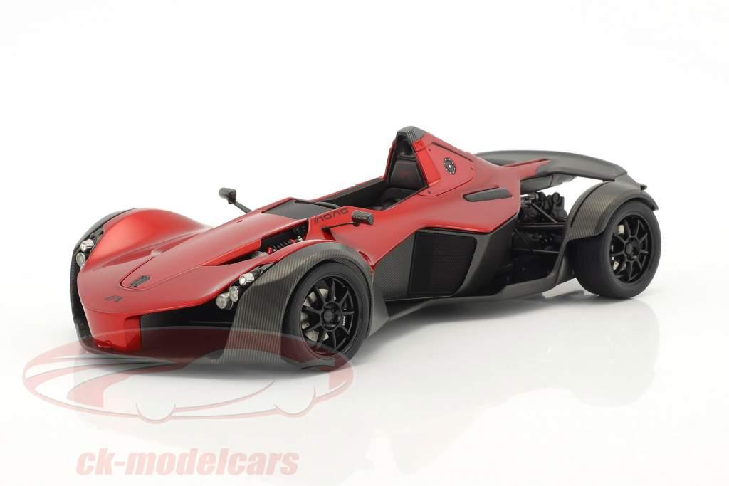 BAC Mono Année 2011 rouge métallique / noir 1:18 AUTOart