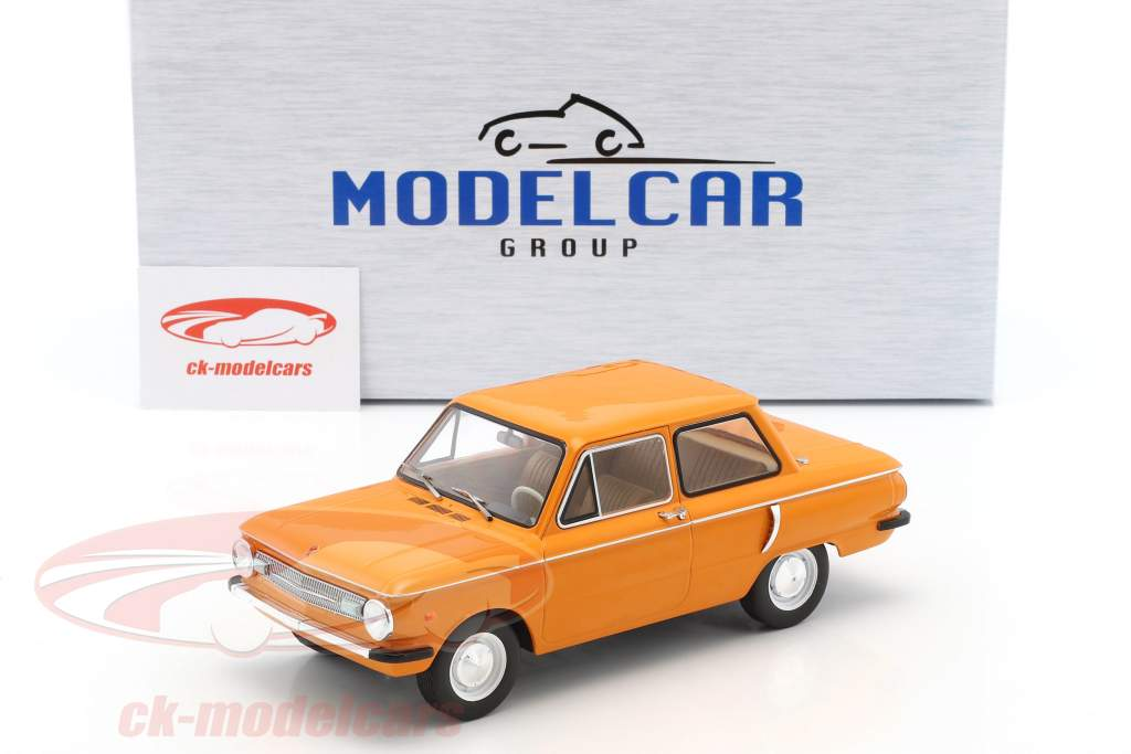 Saporoshez SAS 966 year 1966 orange 1:18 Model Car Group