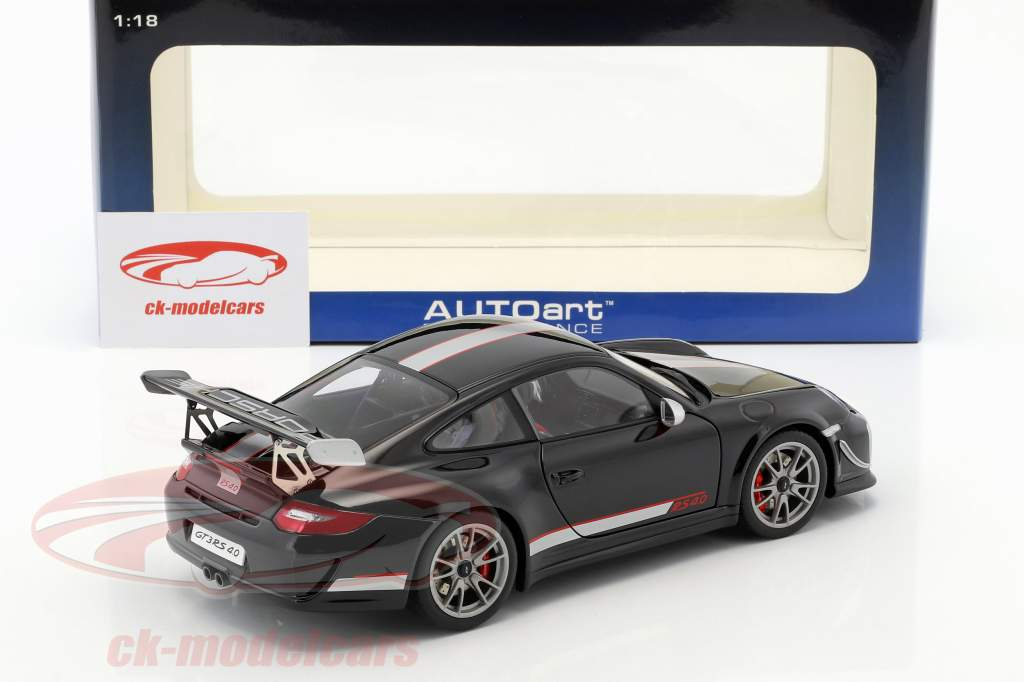 AUTOart 78146 PORSCHE 911 997 GT3 RS 4.0 1//18 MODEL CAR BLACK