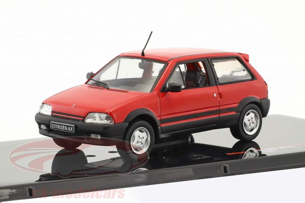 Citroen AX GTi Baujahr 1991 rot 1:43 Ixo