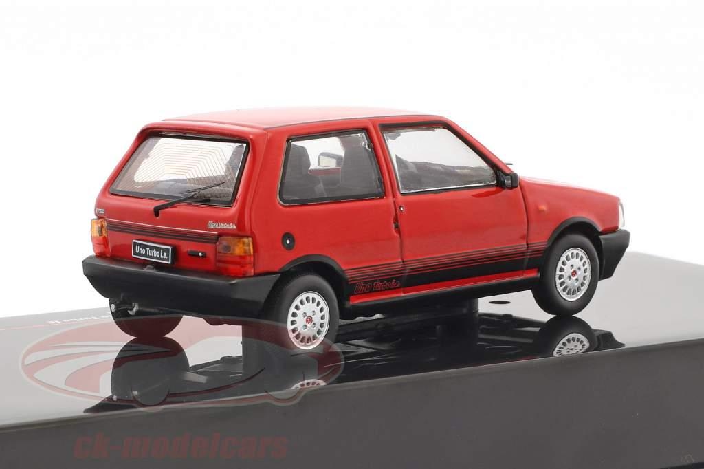 Fiat Uno Turbo IE Baujahr 1984 rot 1:43 Ixo