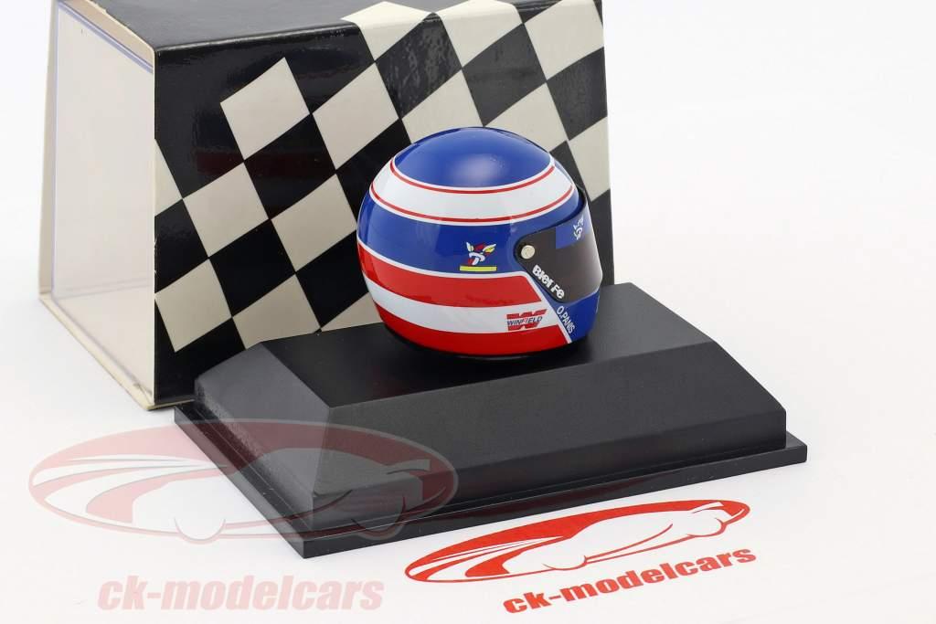 Olivier Panis Prost JS45 Formel 1 1997 Helm 1:8 Minichamps