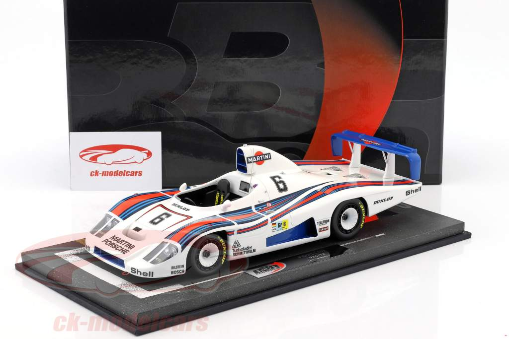 Porsche 936/78 Turbo #6 2nd 24h LeMans 1978 Wollek, Barth, Ickx With Showcase 1:18 BBR