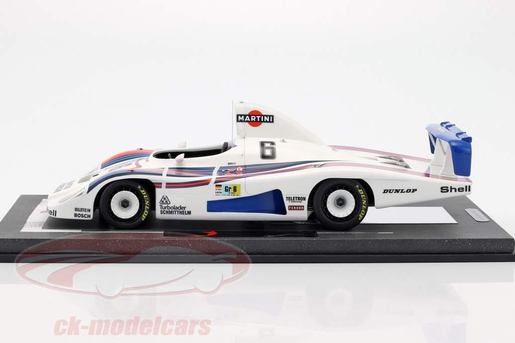 Porsche 936/78 Turbo #6 2nd 24h LeMans 1978 Wollek, Barth, Ickx mit Vitrine 1:18 BBR