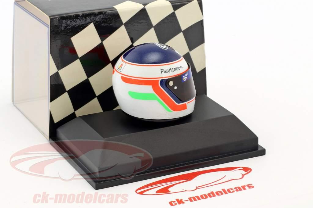 Jarno Trulli Formel 1 1997 Helm 1:8 Minichamps