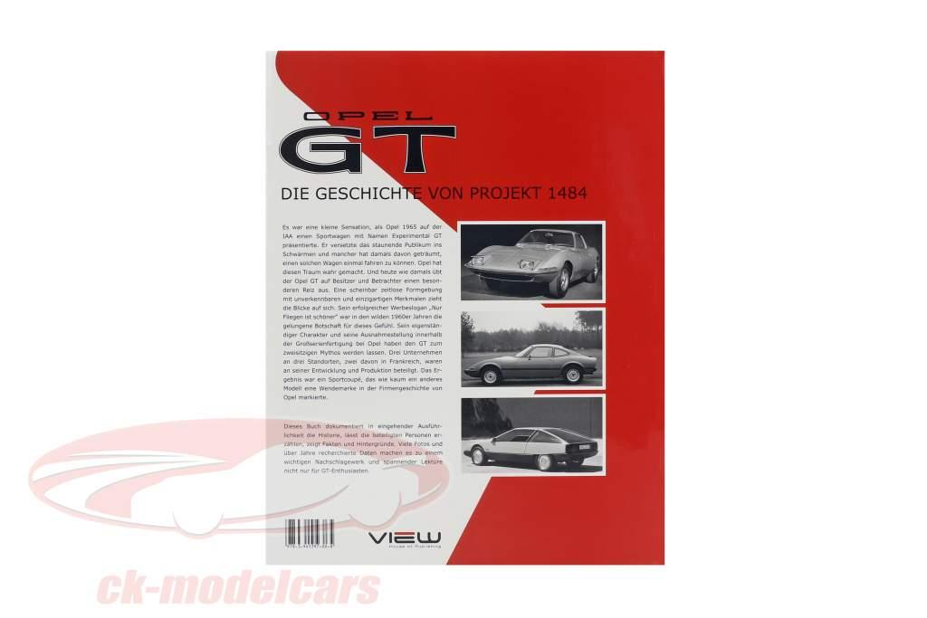 Buch: Opel GT - Die Geschichte von Projekt 1484 von Stefan Müller