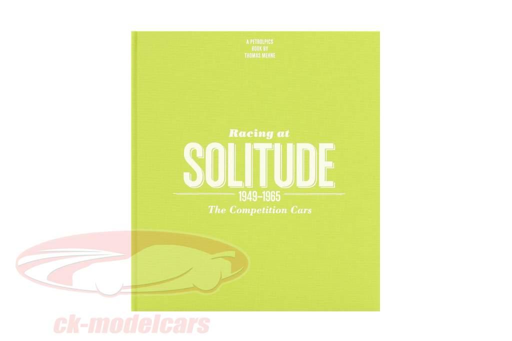 livre: Racing at solitude 1949-1965 de Thomas Mehne