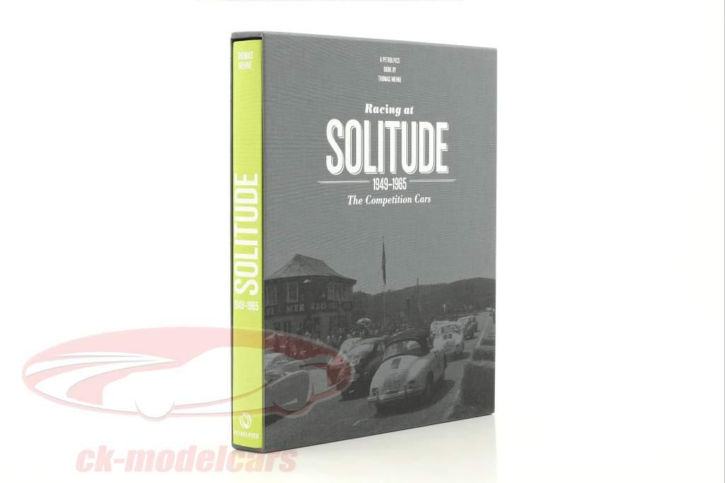 livro: Racing at solidão 1949-1965 de Thomas Mehne