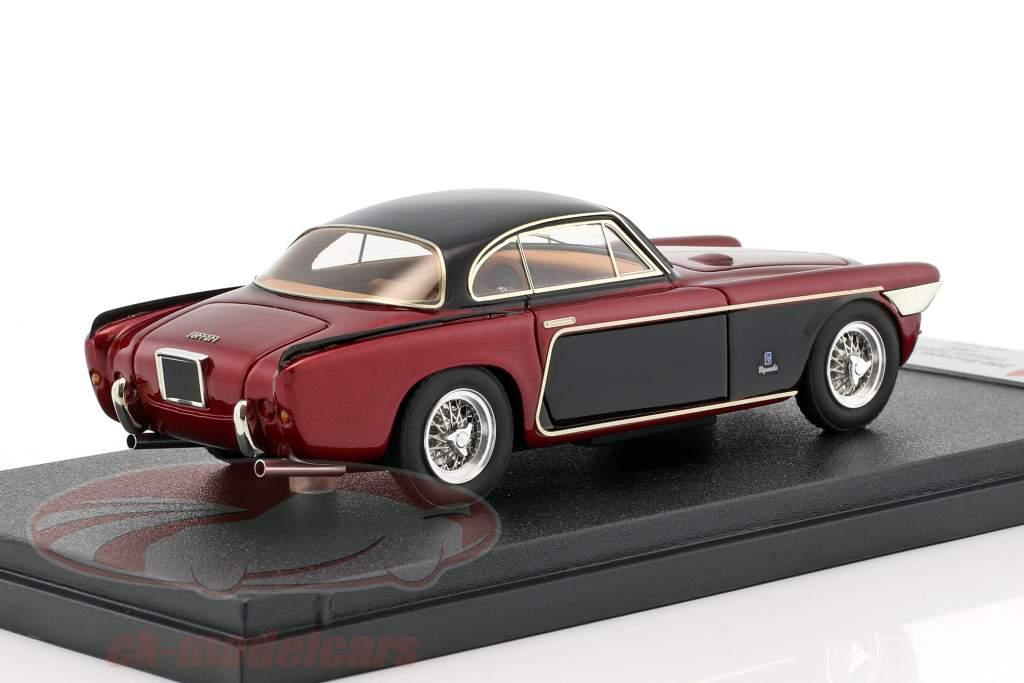 Ferrari 250 Europa Vignale year 1964 red metallic / black 1:43 BBR