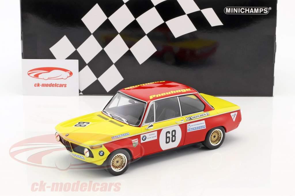 BMW 2002 #68 prix de la Nations Hockenheim 1970 Jörg Obermoser 1:18 Minichamps