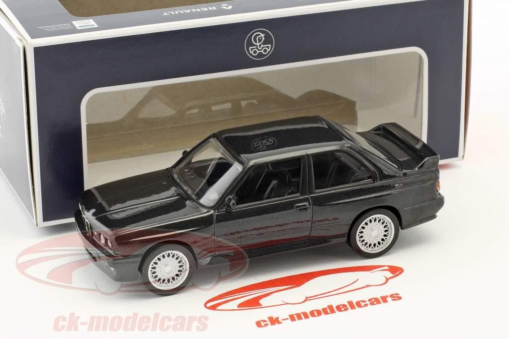 BMW M3 E30 anno di costruzione 1986 Jet Car nero metallico 1:43 Norev