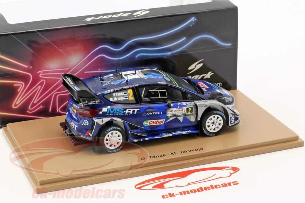 Ford Fiesta WRC #2 gagnant Rallye Italien 2017 Tänak, Järveoja 1:43 Spark