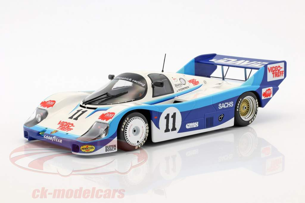 Porsche 956K #11 200 miles af Nürnberg 1983 David Hobbs 1:18 Minichamps