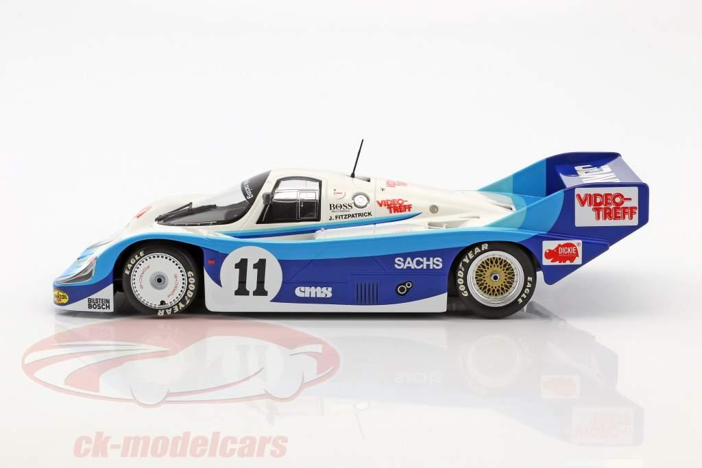 Porsche 956K #11 200 milhas de Nuremberg 1983 David Hobbs 1:18 Minichamps