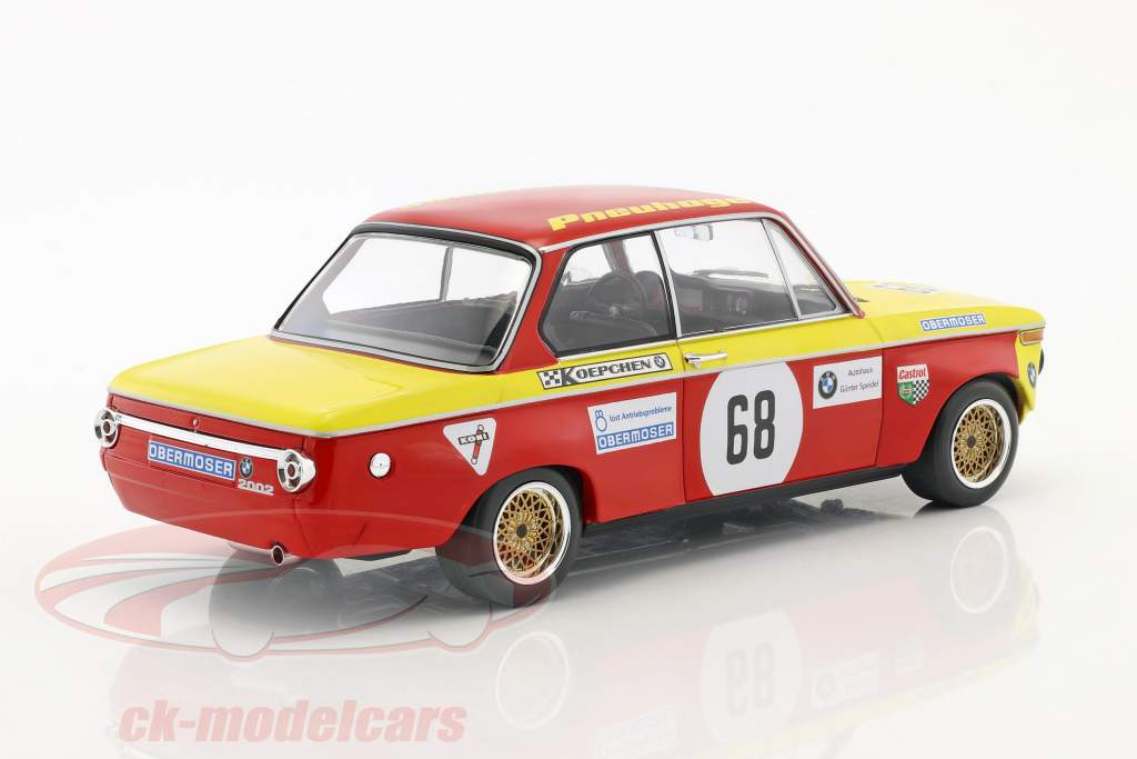 BMW 2002 #68 Preis der Nationen Hockenheim 1970 Jörg Obermoser 1:18 Minichamps
