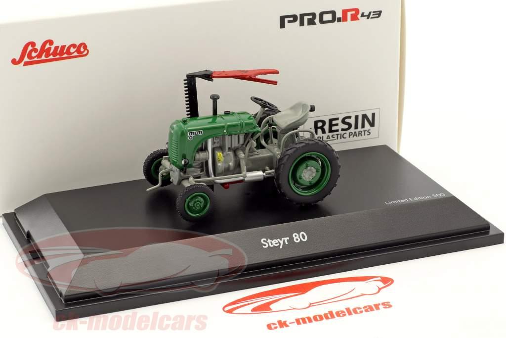 Steyr 80 tracteur vert / gris 1:43 Schuco