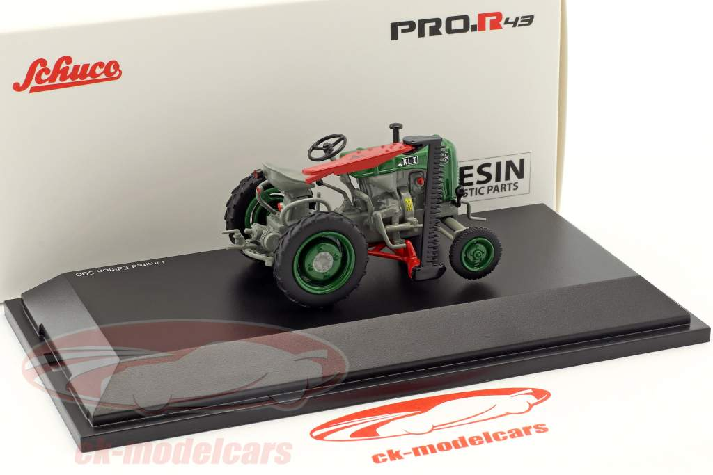 Steyr 80 tractor groen / grijs 1:43 Schuco