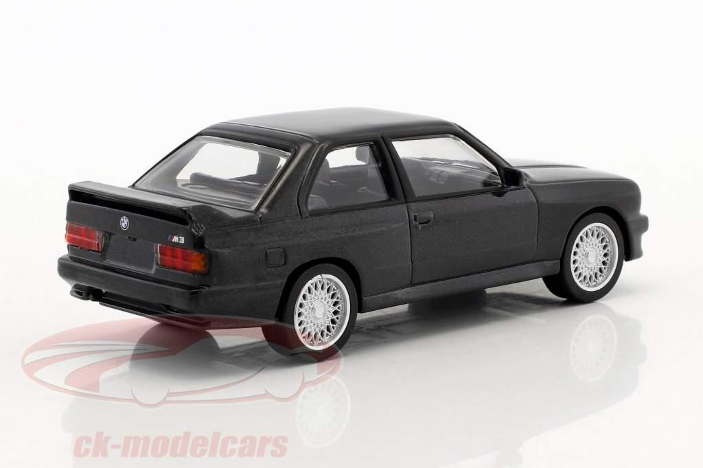 BMW M3 E30 Baujahr 1986 Jet Car schwarz metallic 1:43 Norev