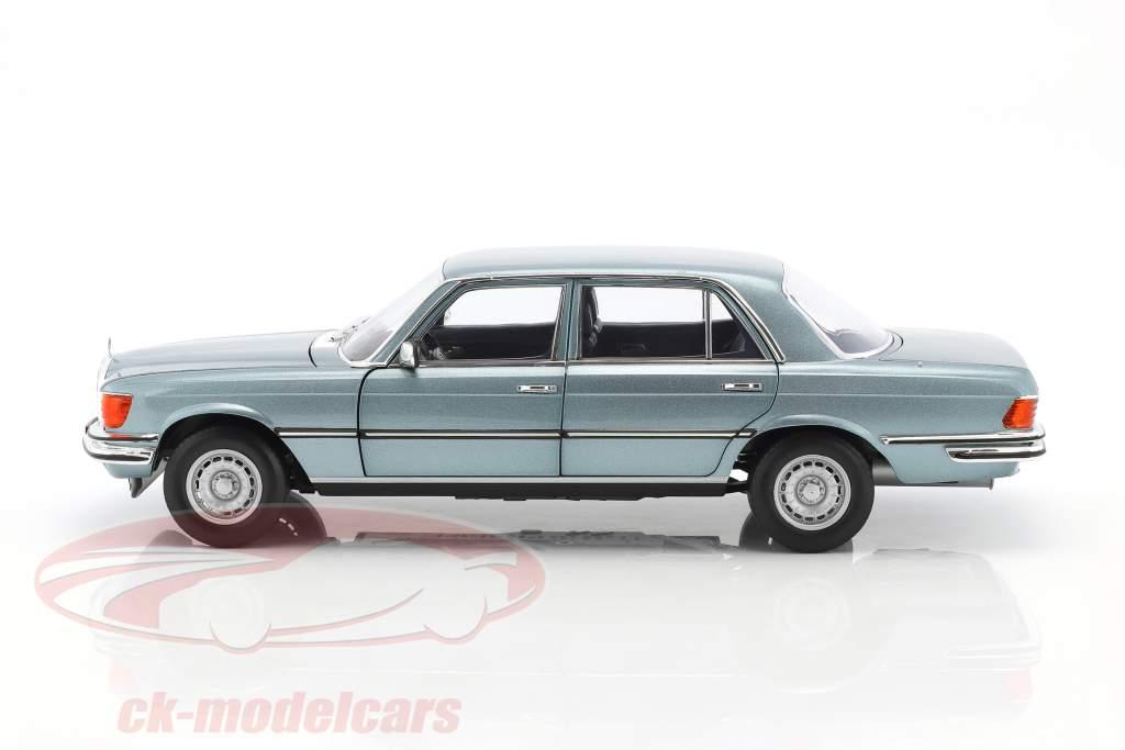 Mercedes-Benz 450 SEL 6.9 Baujahr 1976 blaugrau metallic 1:18 Norev