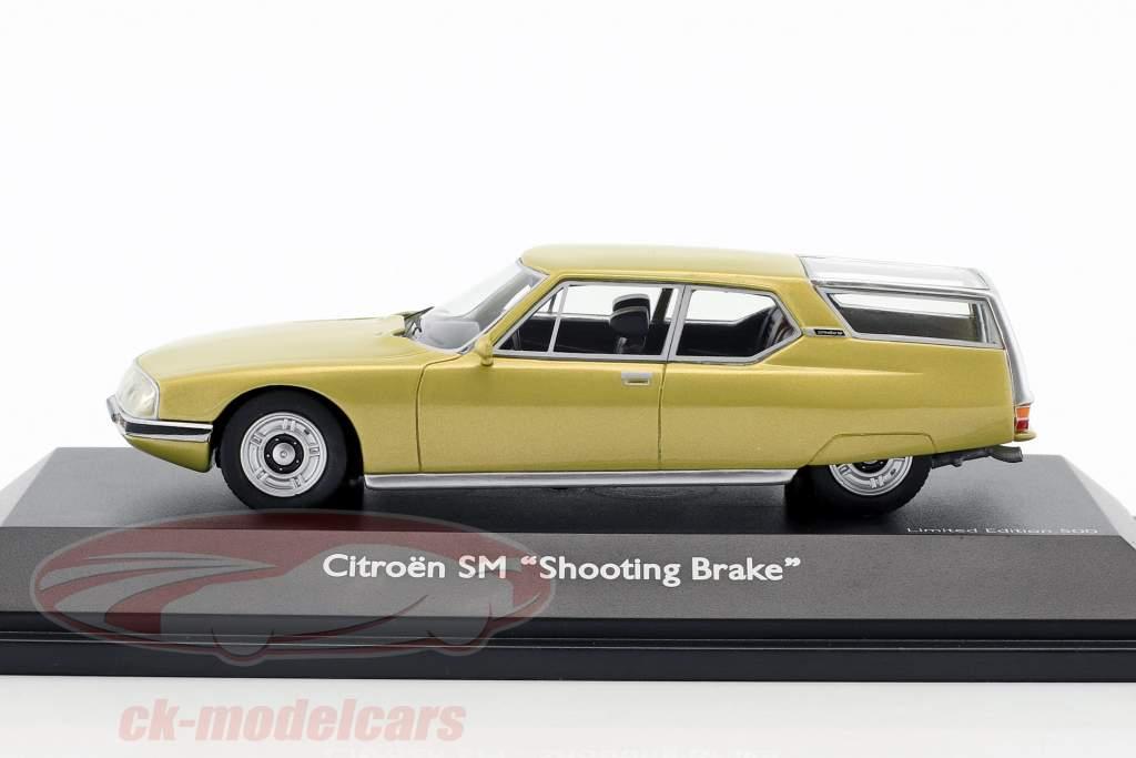 Citroen SM Shooting Brake oro metálico 1:43 Schuco