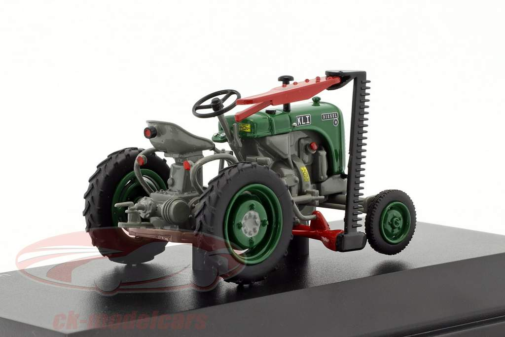 Steyr 80 trator verde / cinza 1:43 Schuco