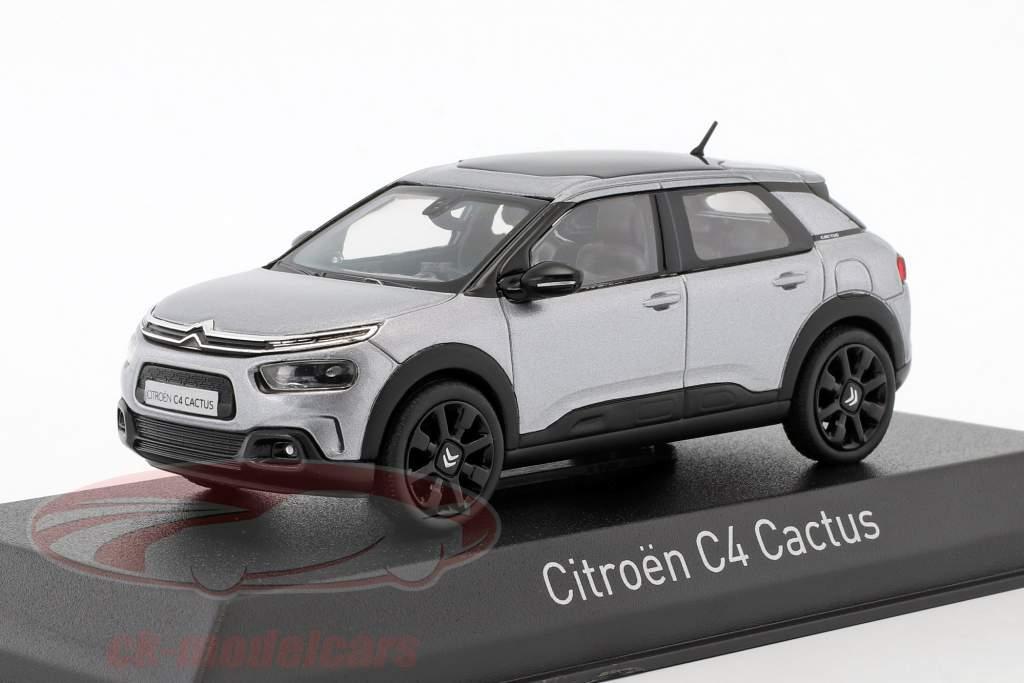 Citroen C4 Cactus anno di costruzione 2018 alluminio grigio 1:43 Norev