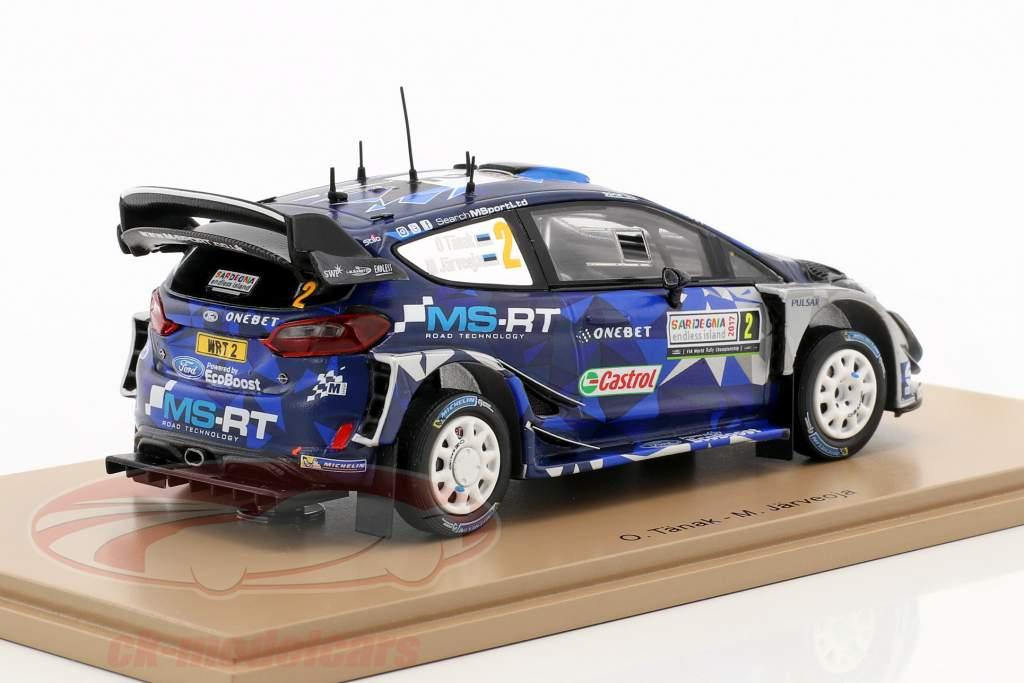 Ford Fiesta WRC #2 Winner Rallye Italien 2017 Tänak, Järveoja 1:43 Spark