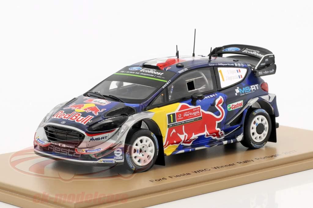 Ford Fiesta WRC #1 gagnant Rallye Portugal 2017 Ogier, Ingrassia 1:43 Spark