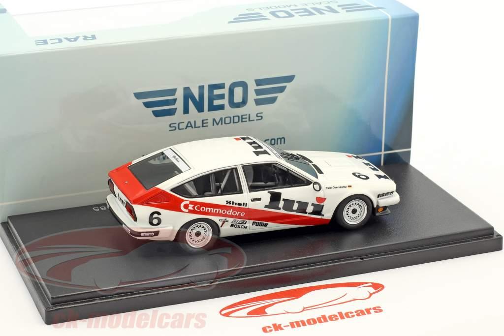 Alfa Romeo GTV6 2.5 #6 5 DPM 1985 Peter Oberndorfer 1:43 Neo