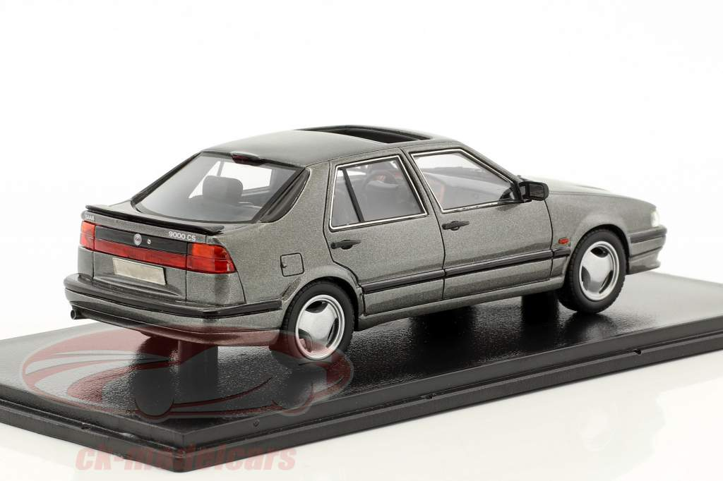 Saab 9000 CS Baujahr 1991 grau metallic 1:43 Neo