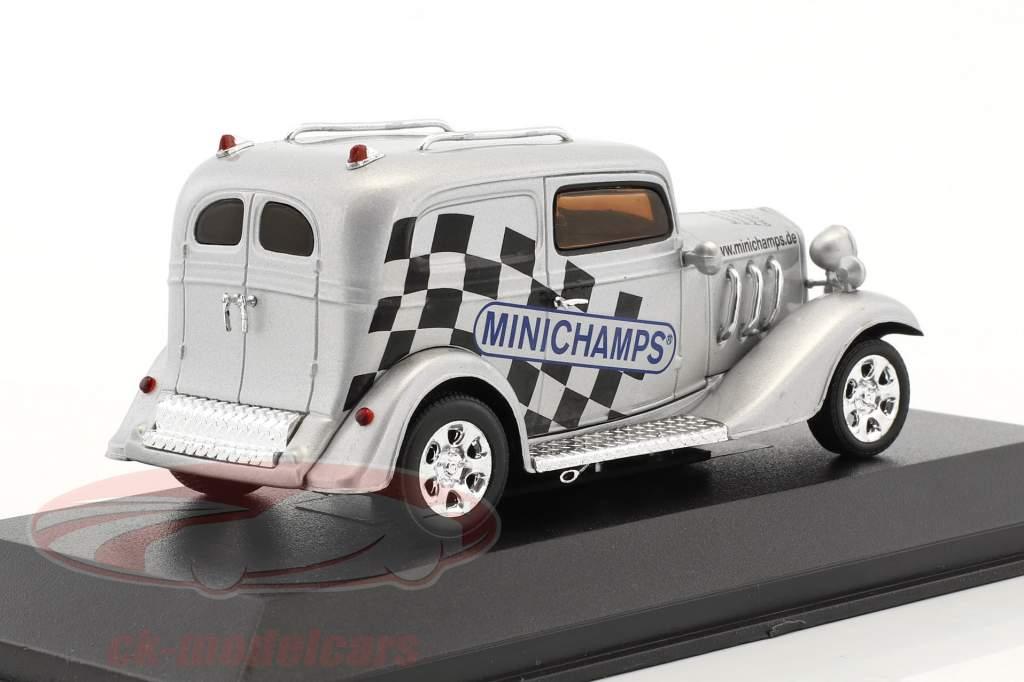 American Hot Rod Sondermodell Spielwarenmesse Nürnberg 2004 silber 1:43 Minichamps