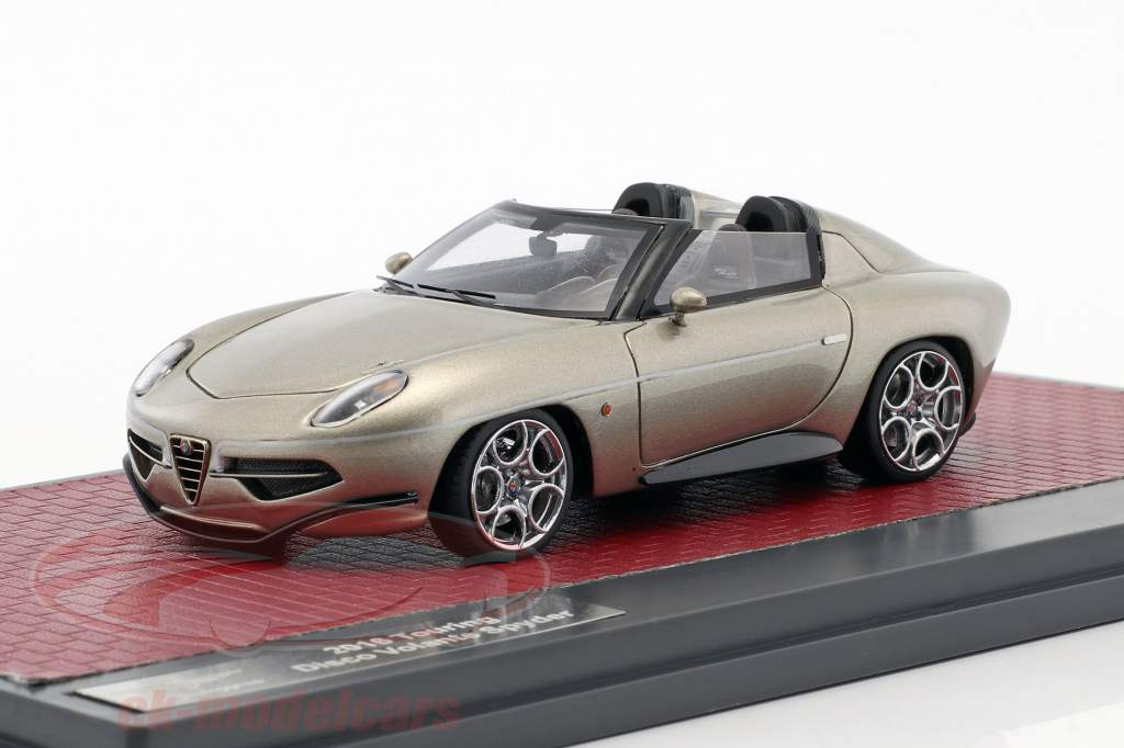 Alfa Romeo Disco Volante Touring Spyder année de construction 2017 champagne métallique 1:43 Matrix